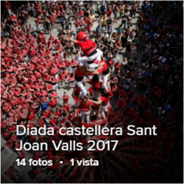 Castells i Tomb del Poble per la diada de Sant Joan