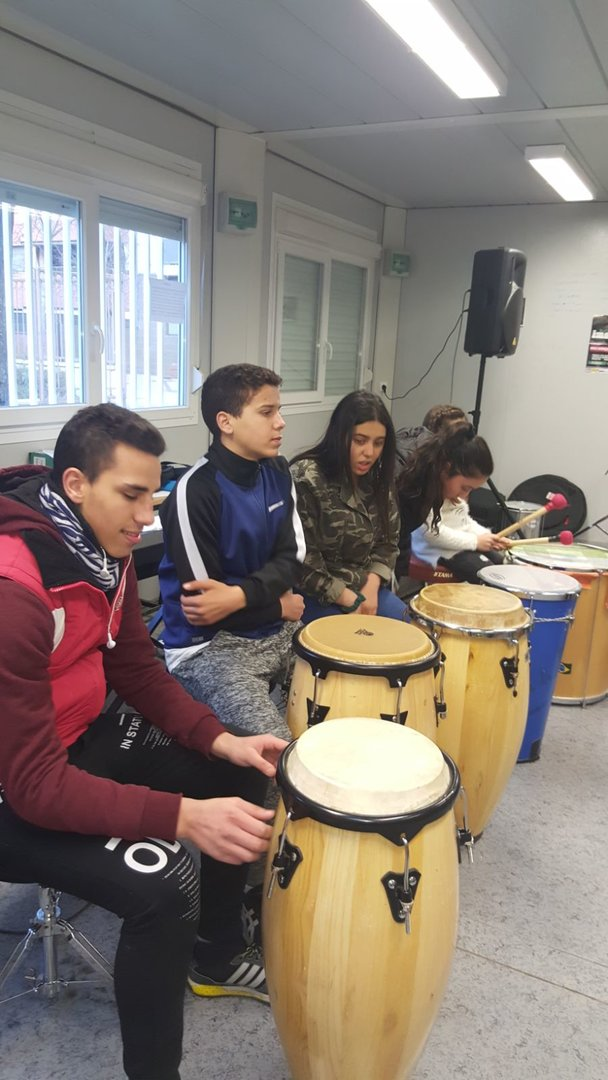 L'Escola Municipal de Música Robert Gerhard ofereix Tastets musicals destinats als usuaris del Centre Obert