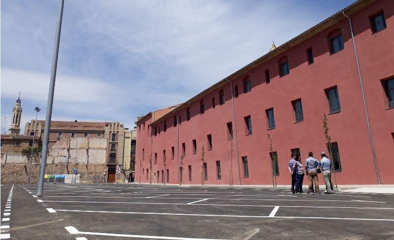 Reobre l'aparcament municipal de l'Hort del Carme després de les obres d'asfaltatge