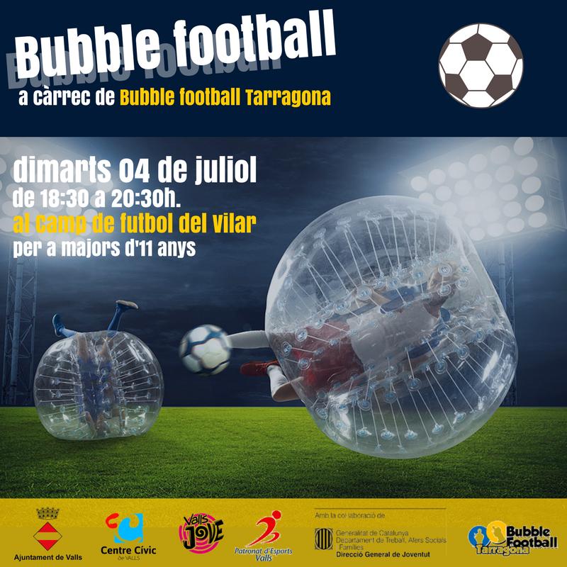 Bubble fotball