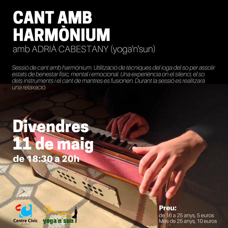 Cant amb harmònium
