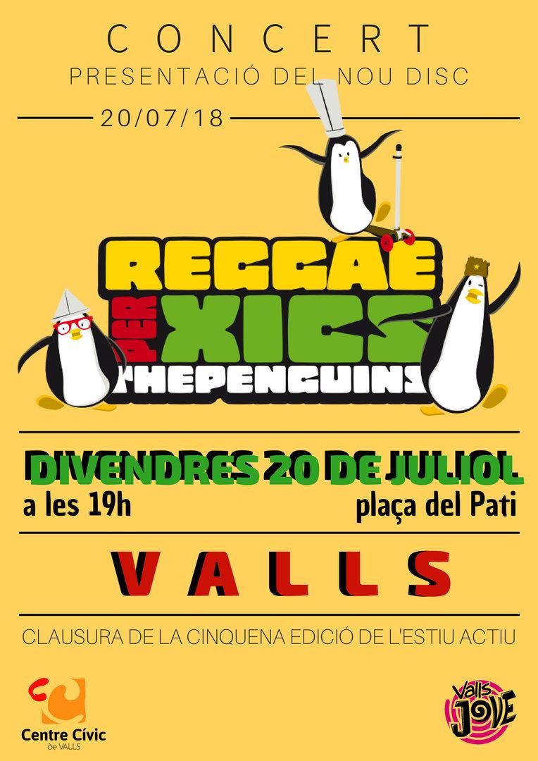 Concert Reggae per xics