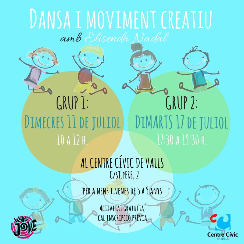 Dansa i moviment creatiu