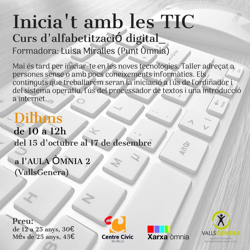 Inicia't amb les TIC