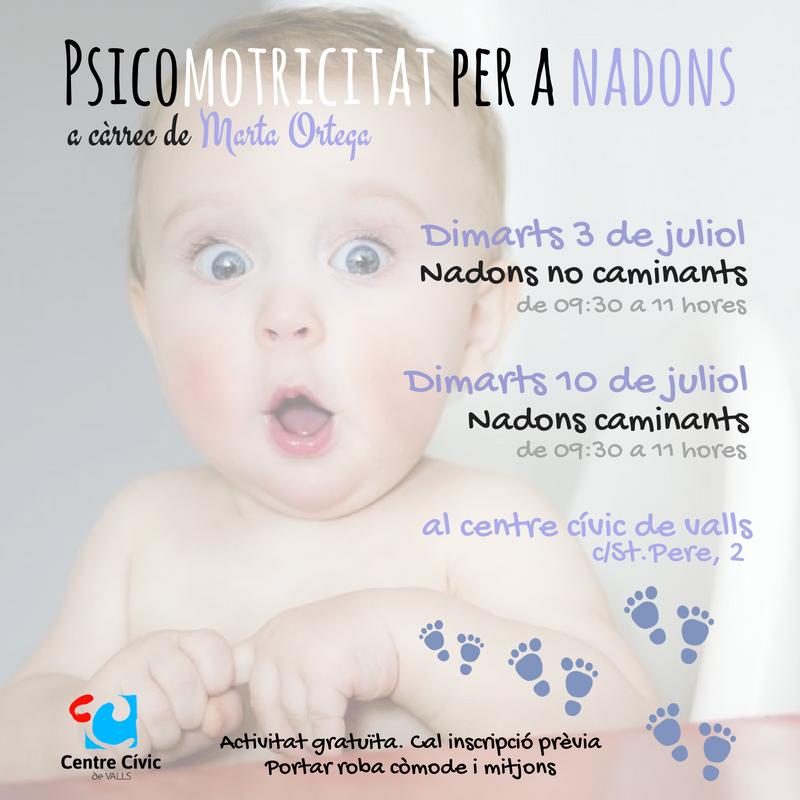 Psicomotricitat per a nadons