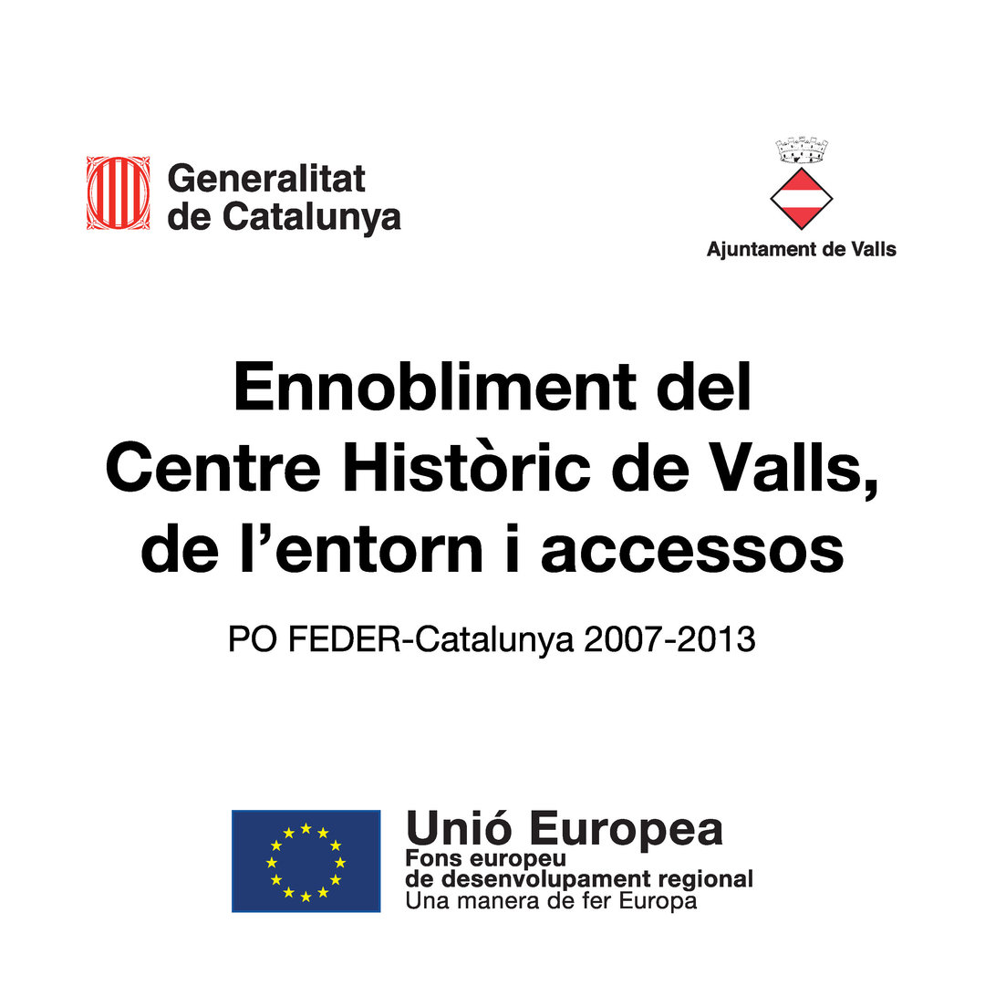 L'Ajuntament aprova el projecte de millora de sis carrers del Barri Antic de Valls