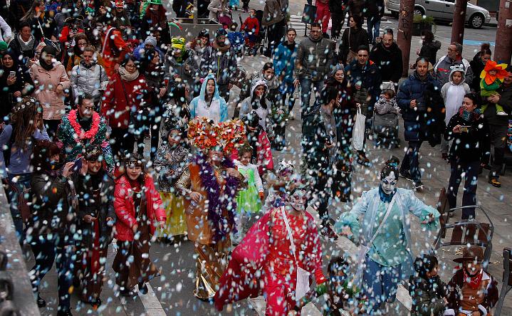 El Centre Cívic presenta la sisena edició de la Rua Infantil de Carnaval