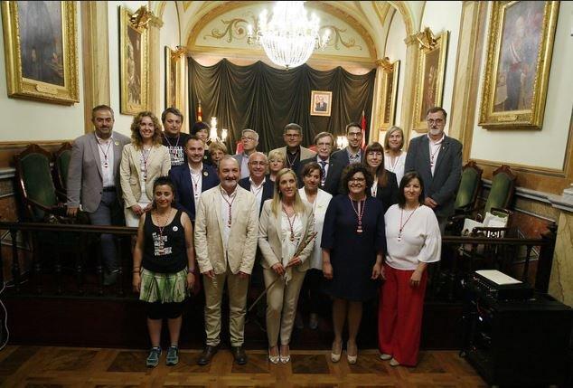Acte de constitució del nou Ajuntament de Valls