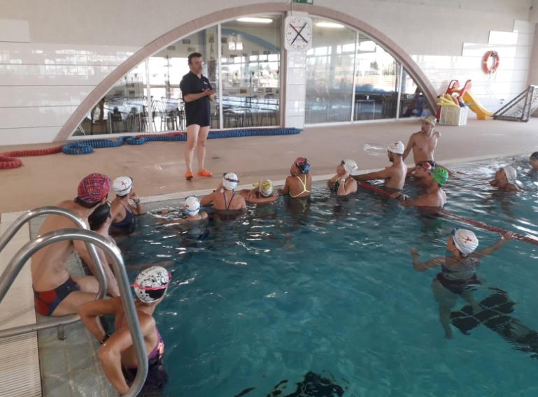 El Patronat d'Esports va realitzar una jornada formativa sobre habilitats aquàtiques