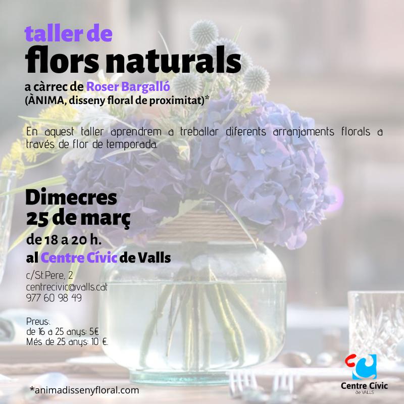 taller flors naturals