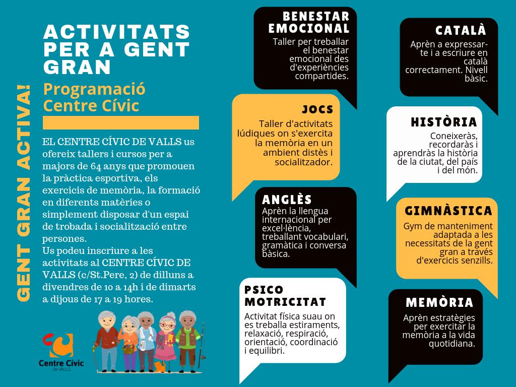 Activitats per a gent gran