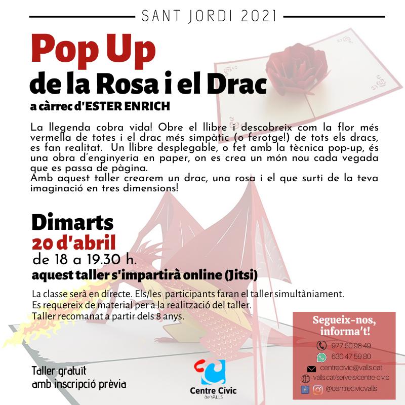 Pop up de Sant Jordi