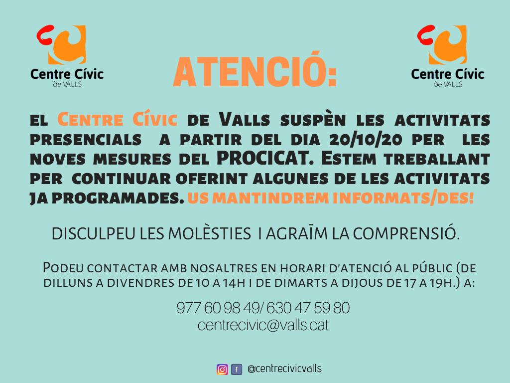 Tancament Centre Cívic
